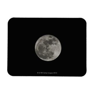 Full moon against night sky vinyl magnet