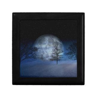Full Moon Among the Treetops Gift Box