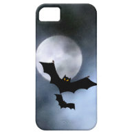 Full Moon and Bats iPhone 5 Casemate iPhone 5 Case