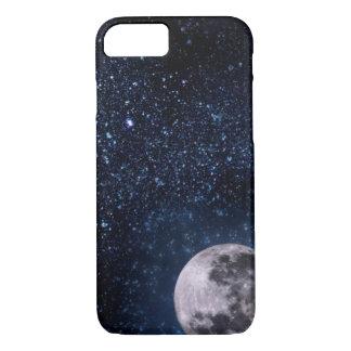 Full Moon and Stars Night Sky Case