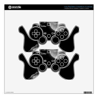 Full moon and the wolf PS3 controller decals