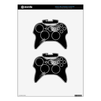 Full moon and the wolf xbox 360 controller skin