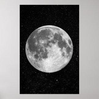 Full Moon art Poster
