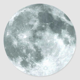 """""""FULL MOON"""" Astronomy Stickers"""