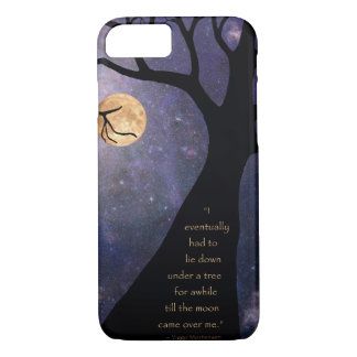 Full Moon Bare Trees iPhone 7 Case