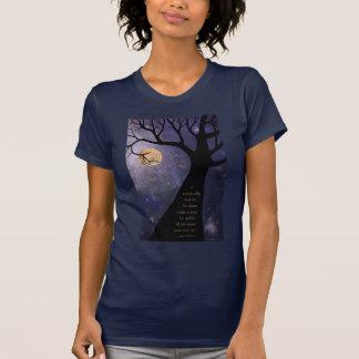 Full Moon Bare Trees T-Shirt