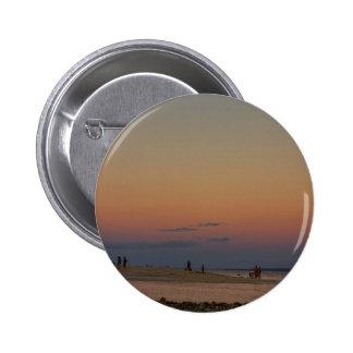 Full Moon Beach Watching At Sunset Button