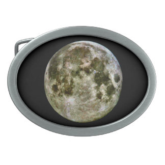 Full Moon Belt Buckle