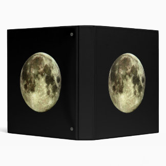 Full Moon Binder. 3 Ring Binder