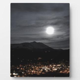 full moon breckenridge photo plaques