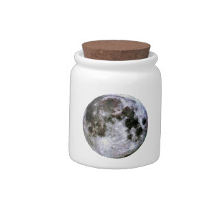 Full Moon Candy Jar.