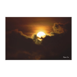 Full Moon Gallery Wrapped Canvas