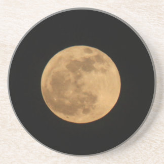 full moon caosters drink coaster