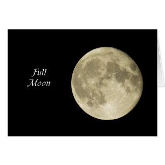 Full Moon Card