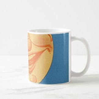Full Moon Cartoon Coffee Mug