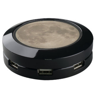 Full Moon Charging Hub - Personalized Moon Charger