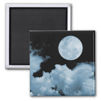 FULL MOON CLOUDS BLUE MAGNETS
