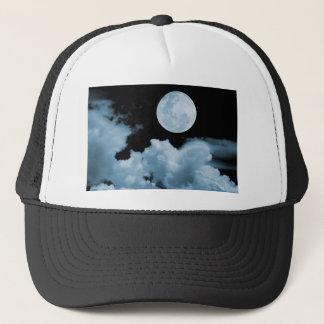 FULL MOON CLOUDS BLUE TRUCKER HAT