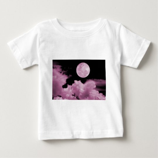 FULL MOON CLOUDS PINK BABY T-Shirt