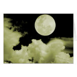 FULL MOON CLOUDS YELLOW CARDS
