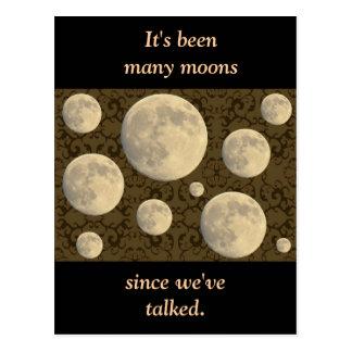 Full Moon Coordinating Items Postcard
