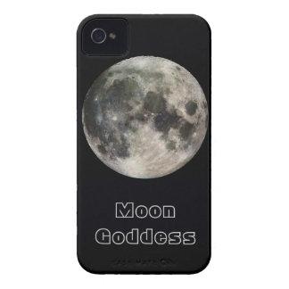 Full Moon Custom Text iPhone 4/4S Case