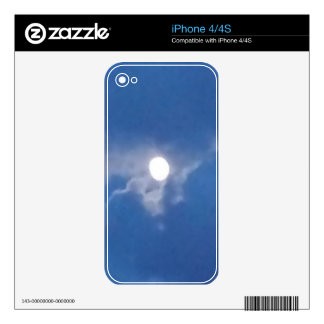 Full Moon Decal For The iPhone 4