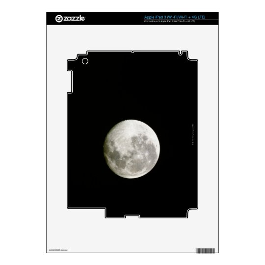 Full Moon Decals For iPad 3