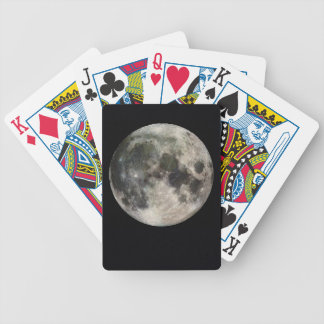 Full Moon Deck of Cards, Customizable Bicycle Playing Cards
