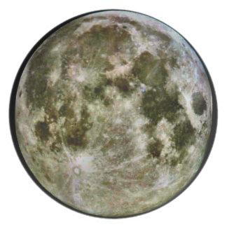 Full Moon Dinner Plate