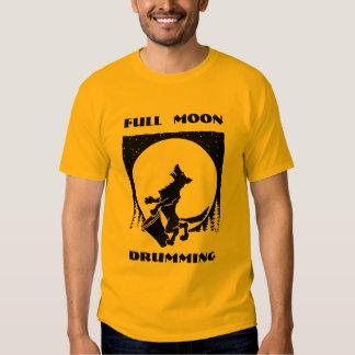 Full Moon Drum T-shirt