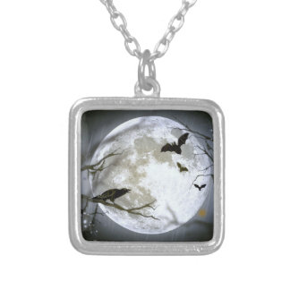 FULL MOON FEVER ~ SILVER PLATED NECKLACE