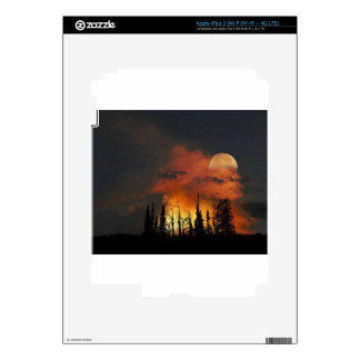 Full Moon Fire iPad 3 Decals