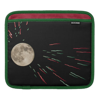 Full Moon Fireworks Sleeves For iPads