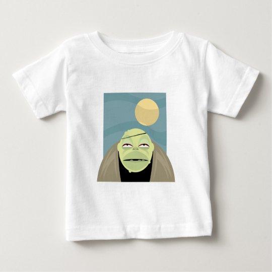 Full Moon Frankenstein Monster Baby T-Shirt