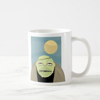 Full Moon Frankenstein Monster Classic White Coffee Mug
