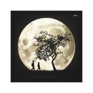 Full Moon Gallery Wrap Canvas