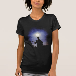 Full Moon & Guitar Silhouette Shirt