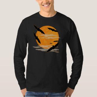 Full Moon Halloween Bats T-Shirt