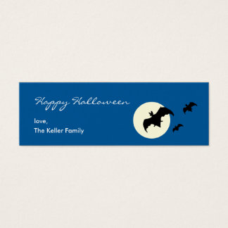 Full Moon Halloween Gift Tag