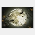 Full Moon Halloween Lawn Signs