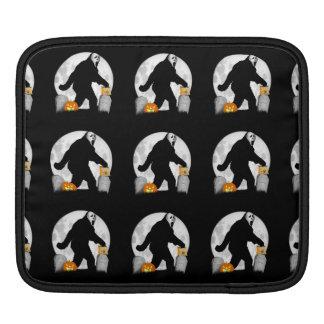 Full Moon Halloween Squatchin' Sleeves For iPads
