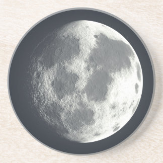 Full Moon Image Coaster