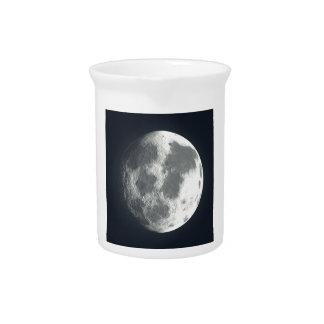 Full Moon Image Beverage Pitchers