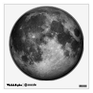 Full Moon Image Wall Decal