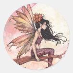 Full Moon in Autumn Fairy Stickers