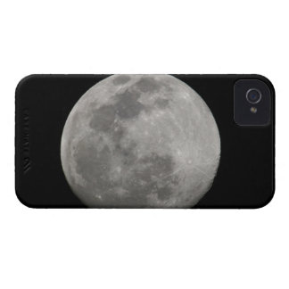 Full moon in black and white. Credit as: Arthur iPhone 4 Case