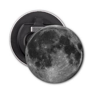 Full Moon in HD Bottle Opener