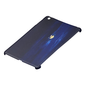 Full Moon in Midnight Blue Cover For The iPad Mini