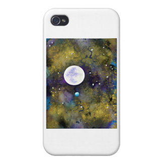 full moon in outer space iPhone 4/4S cover
